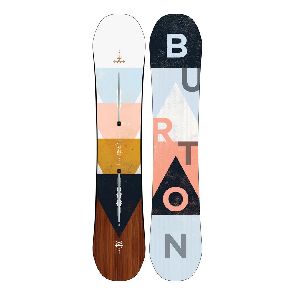 Burton Yeasayer Flying V Womens Snowboard 2020 im test