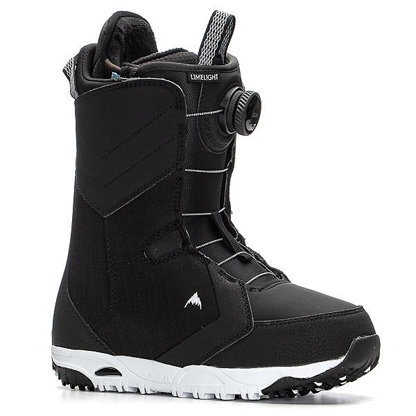 Burton Limelight Boa Womens Snowboard Boots 2020, Black, 600
