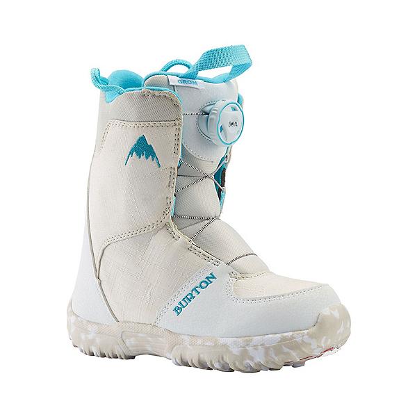 Burton Grom Boa Kids Snowboard Boots, White, 600