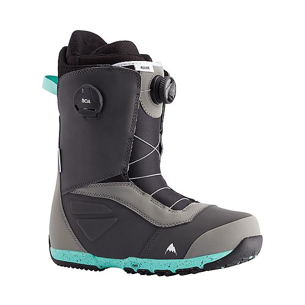 Burton Ruler Boa Snowboard Boots, Gray-Teal, 600
