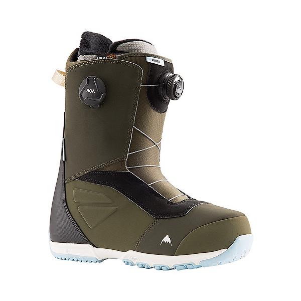 Burton Ruler Boa Snowboard Boots 2022, Green-Black, 600