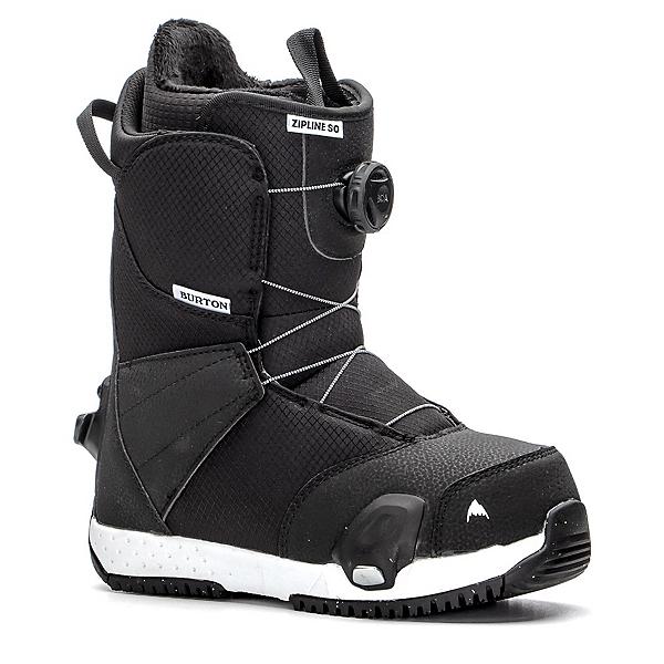 Burton Zipline Step On Kids Snowboard Boots, Black, 600