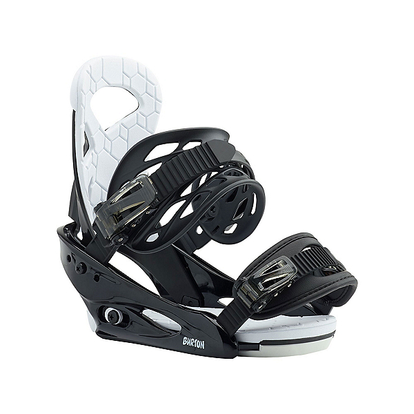 Burton Smalls Kids Snowboard Bindings, Black, 600