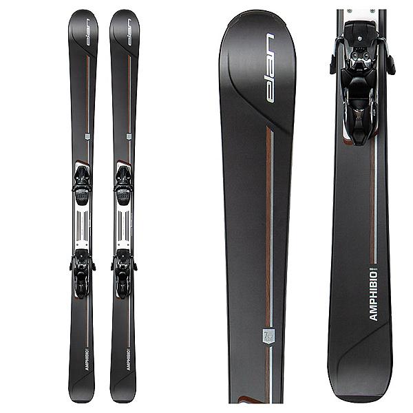 Elan Amphibio Xti 88 70 Year Anniversary Edition Skis with Elan ELX 14 Bindings 2016, , 600