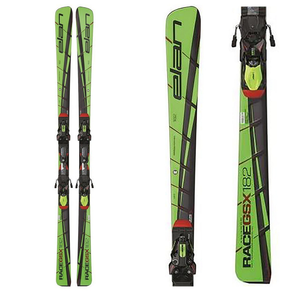 Elan GSX Master Race Skis with BINDINGS ARE NOT INCLUDED WITH THIS SKI Bindings im test