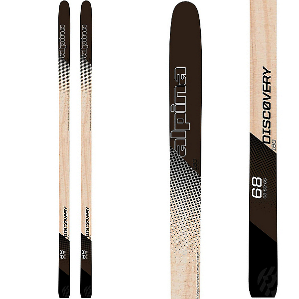 Alpina Discovery 68 Womens Cross Country Skis, , 600