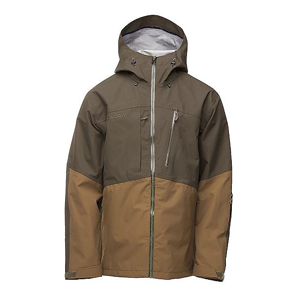 Flylow Quantum Pro Mens Shell Ski Jacket, Kombu-Kelp, 600