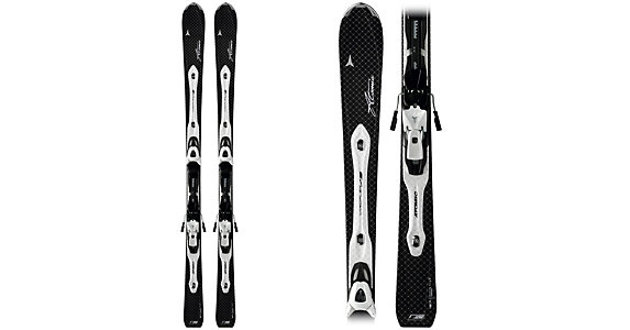 Atomic D2 VF 73 Womens Skis with XTL 9 Lady Bindings