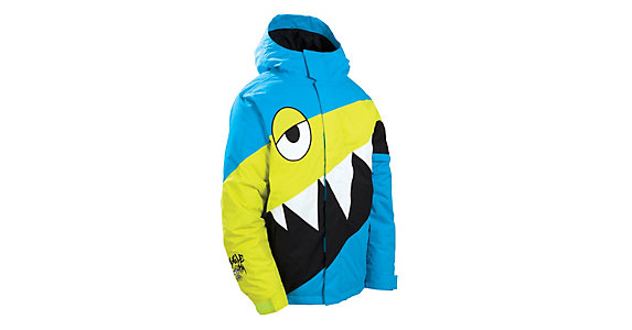686 Snaggletooth Hyper Insulated Boys Snowboard Jacket 2012