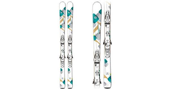 Salomon Bamboo Skis + Z10 Ti Bindings Women's 2014