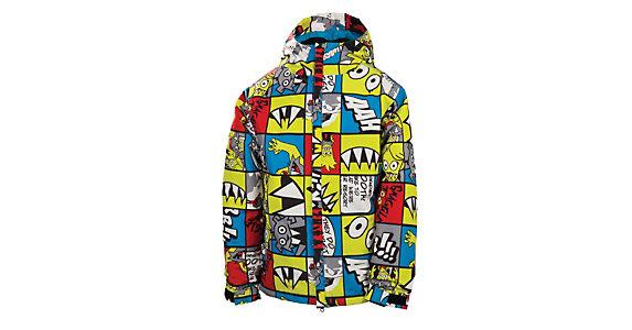686 Snaggle Strip Boys Snowboard Jacket 2014