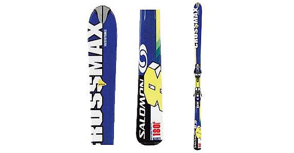 Salomon Crossmax 8 Pilot Skis with S810 Pilot Bindings