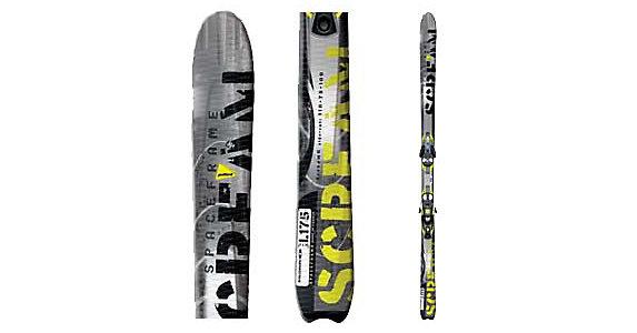 8 With Pilot S810 Skis Bindings Scream Ti Salomon 3LA5R4jq