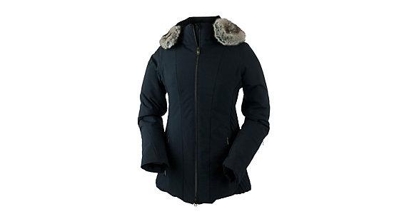 Obermeyer Siren W Faux Fur Womens Insulated Ski Jacket 2017