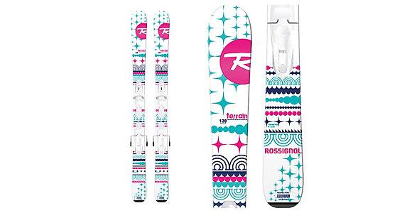 Rossignol Terrain Girl Baby Kids Skis With Kid X 4