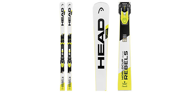 175cm Head 2019 WC Rebels iSpeed Pro Skis w//WCR 14 Plates NEW !