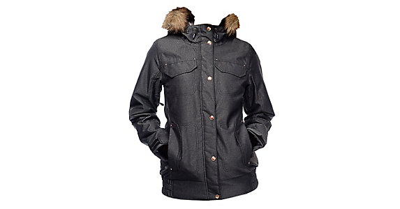 c7958b0fae97 Powder Room Brittany Insulated w Faux Fur Womens Insulated Snowboard Jacket  2017