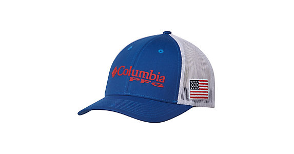 a1e9fcac7fae7 Columbia PFG Mesh Snap Back Hat 2019
