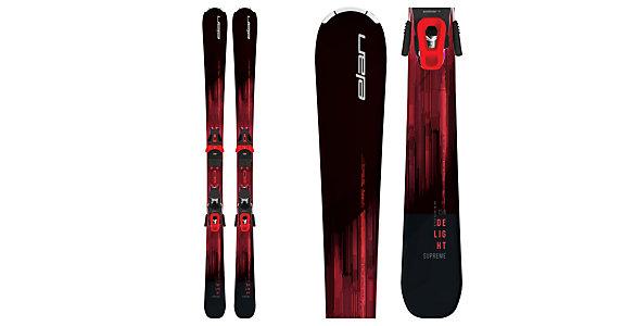 Elan Delight Supreme Womens Skis with ELW 10 GW Bindings 2019 33a839f7b