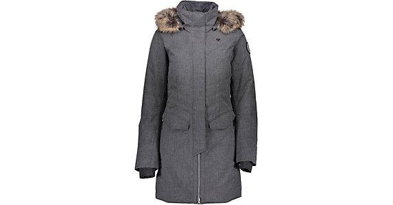 cbf218475e Obermeyer Sojourner Down w Faux Fur Trim Womens Insulated Ski Jacket 2019