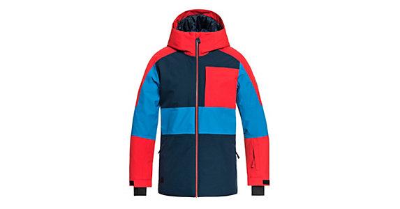7d50e6e62 Quiksilver Sycamore Boys Snowboard Jacket