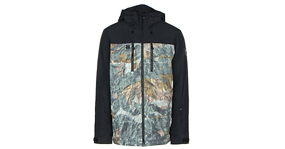 Quiksilver Mission Block Mens Insulated Snowboard Jacket 2019 7c809ec669