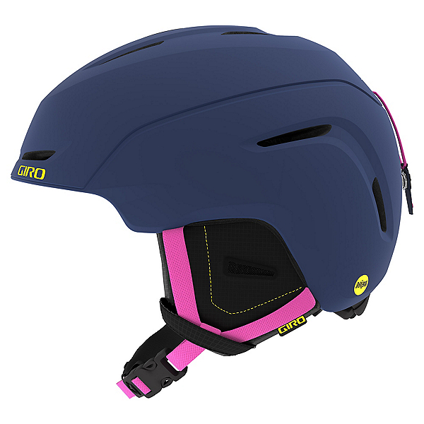 Giro Neo MIPS Kids Helmet, Matte Midnight-Neon Lights, 600