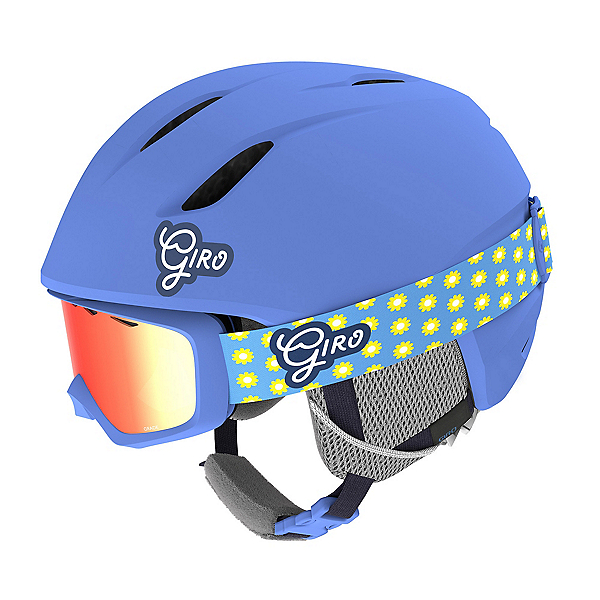 Giro Launch Combo Pack Kids Helmet 2020, Matte Shock Blue Micro, 600