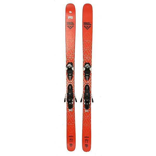 Used 2019 Black Crows Camox Skis With Warden 13 Bindings (A Condition), , 600