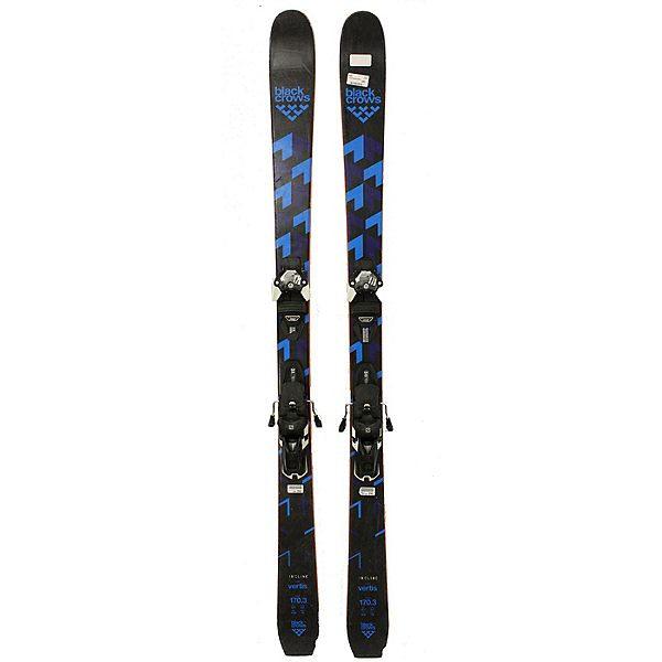Used 2019 Black Crows Vertis Ski Set Warden 13 Bindings A Condition All Mountain, , 600