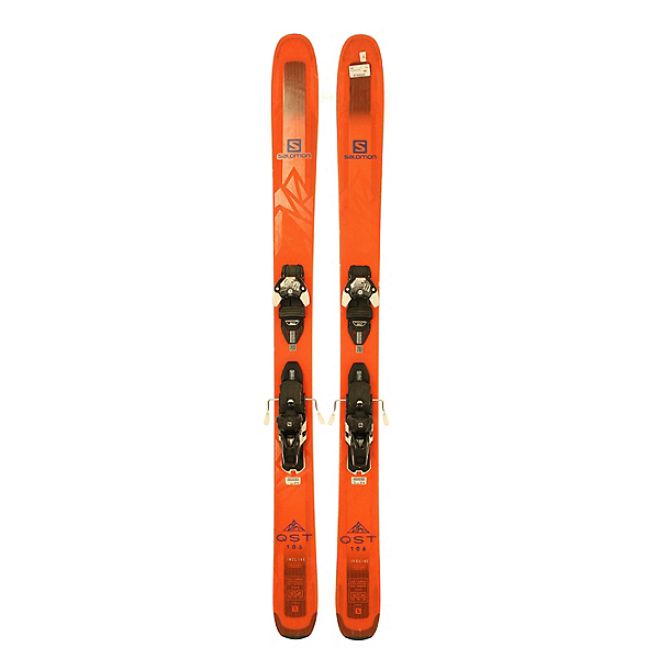 Used 2018 Salomon QST 106 Skis With Warden 13 Bindings Silver Condition, , 600