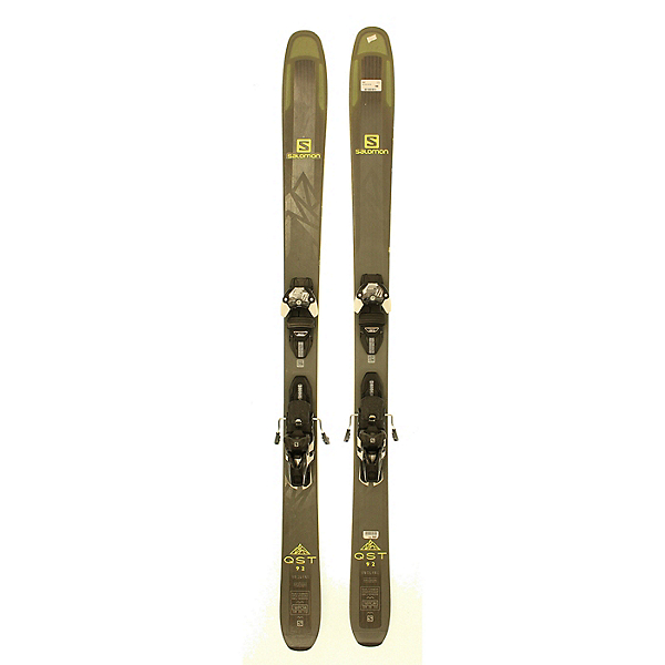 Used 2018 Salomon QST 92 Skis With Warden 13 Bindings Silver Condition, , 600