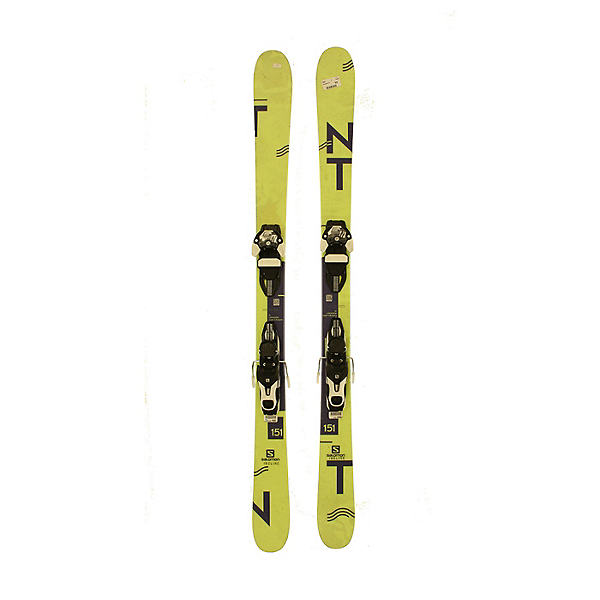 Used 2017 Salomon TNT Skis with Warden 11 Bindings A Condition, , 600