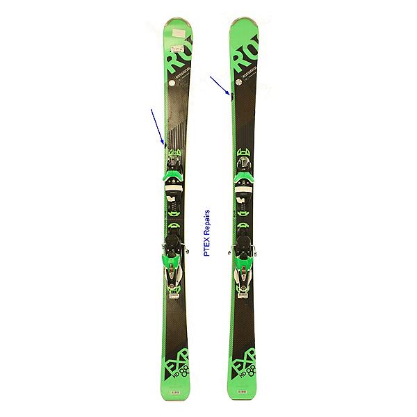 Used 2018 Rossignol Experience 88 HD Skis Look SPX 12 Bindings PTEX REPAIRS, , 600