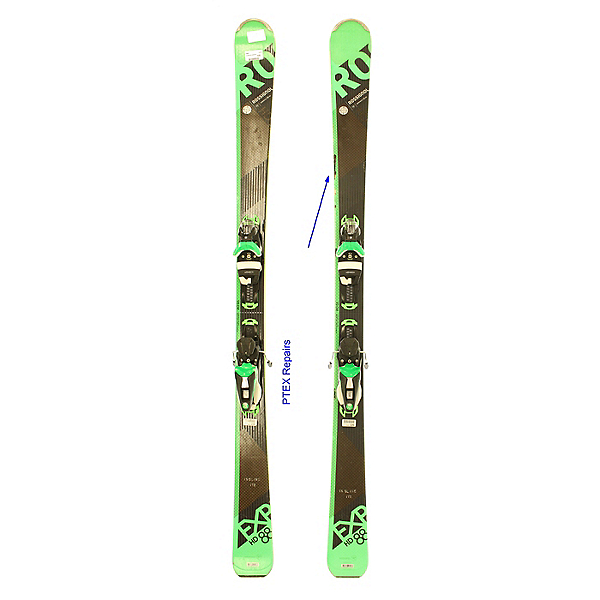 Used 2018 Rossignol Experience 88 HD Skis Look NX 12 Bindings PTEX REPAIRS, , 600