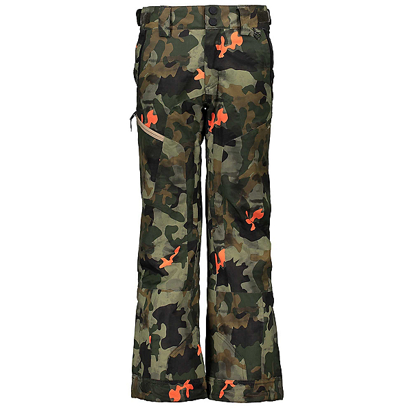 Obermeyer Parker Kids Ski Pants, Hot Shot Camo, 600