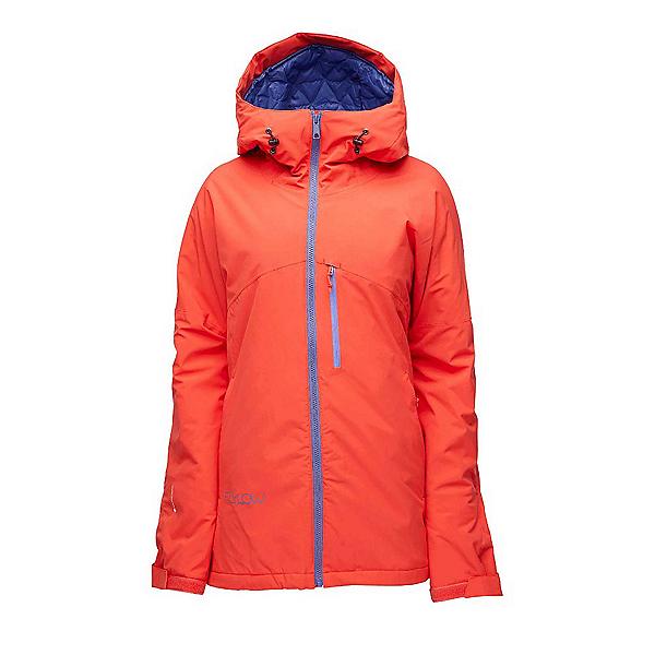 Flylow Sarah Womens Insulated Ski Jacket, Hibiscus, 600