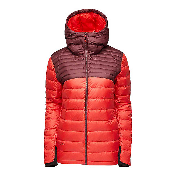 Flylow Betty Down Womens Jacket, Tawny-Hibiscus, 600