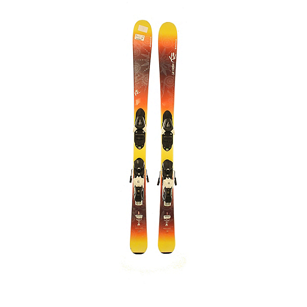Used 16/17 K2 LuvMachine 74ti with Marker Grip Walk bindings (A Condition) Skis, , 600