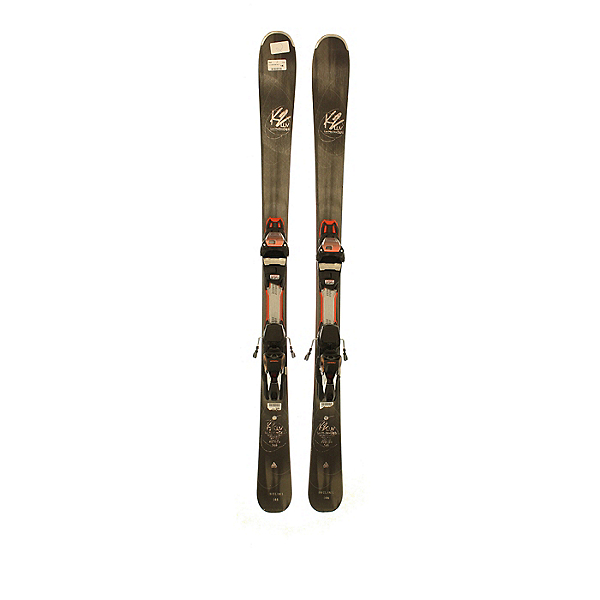 Used 2018 K2 LuvMachine 74ti with Marker Grip Walk bindings (A Condition) Skis, , 600