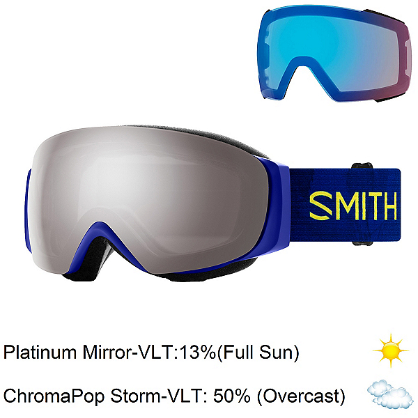 Smith I/O Mag S Womens Goggles 2020, Elena Hight-Sun Platinum Mirro + Bonus Lens, 600