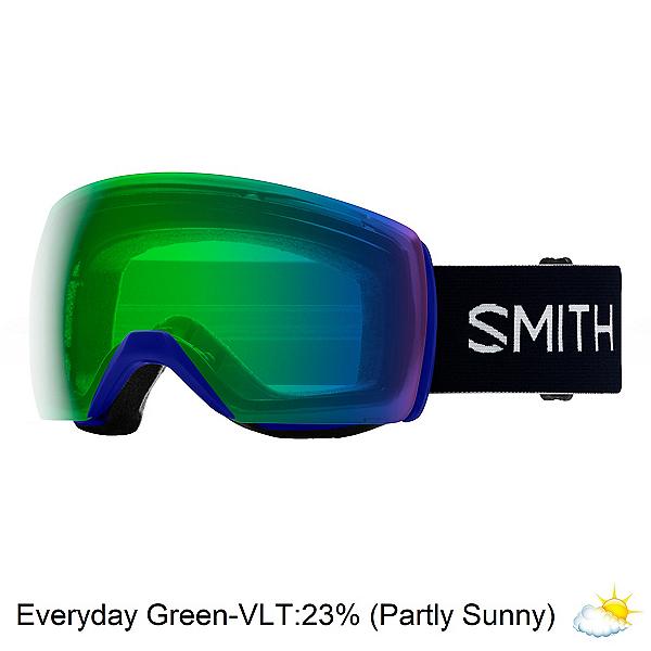 Smith Skyline XL Goggles 2020, Klein Blue-Chromapop Evdy Gree, 600
