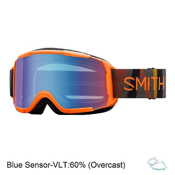 Smith Daredevil Kids Goggles 2020, Halo Camo-Blue Sensor Mirror, 600