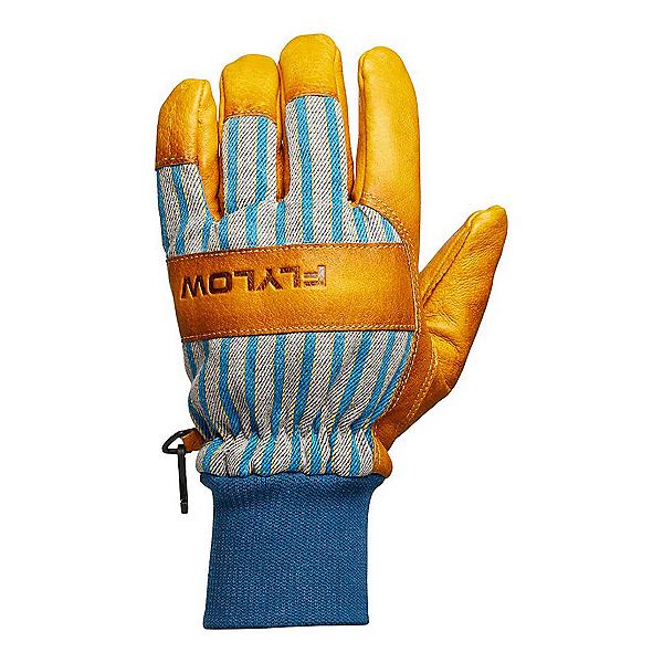 Flylow Tough Guy Gloves, Natural-Blue, 600