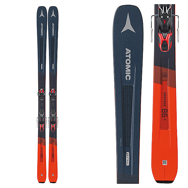 Atomic Vantage 86 TI System Skis with Warden MNC 13 Bindings, , 600