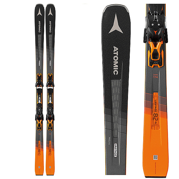Atomic Vantage 82 TI Skis with FT 12 GW Bindings 2020, , 600