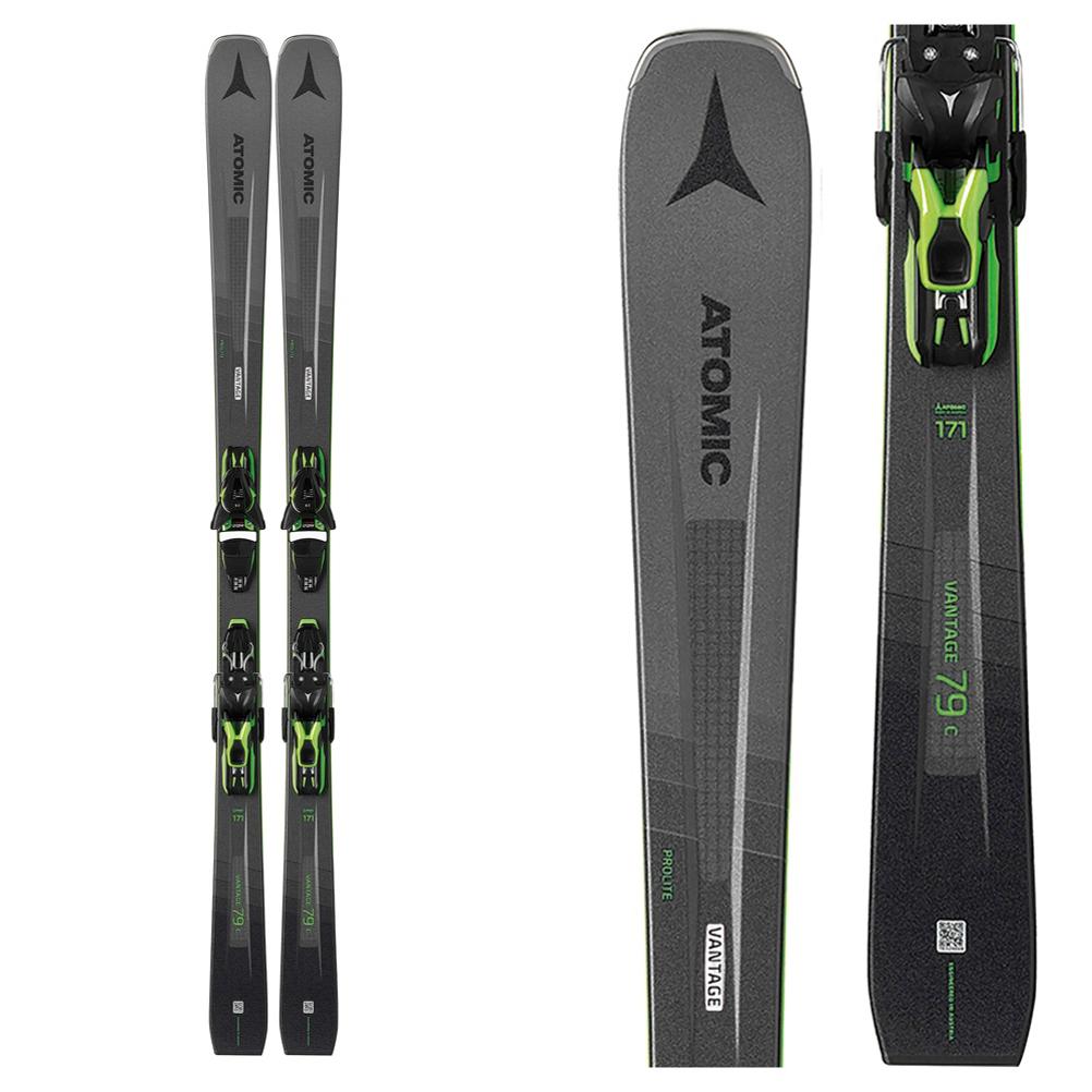 Atomic Vantage 79 C Skis with FT 10 GW Bindings 2020 im test