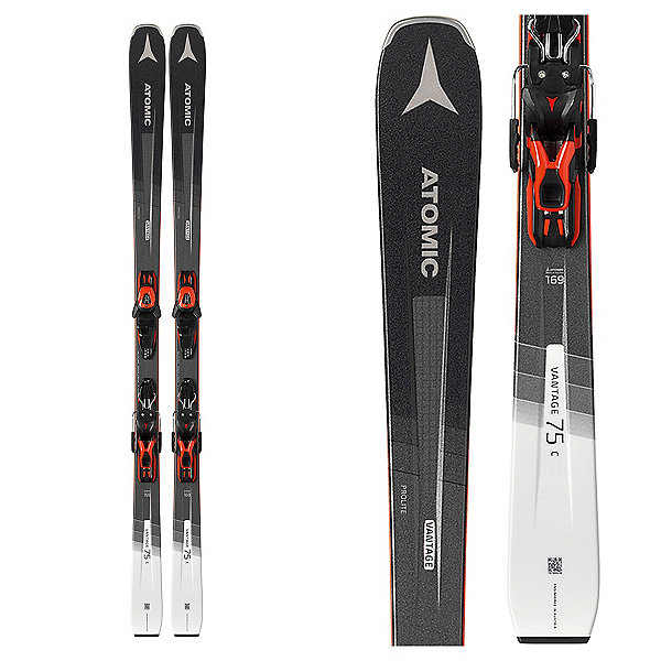 Atomic Vantage 75 C Skis with L 10 GW Bindings 2020, , 600