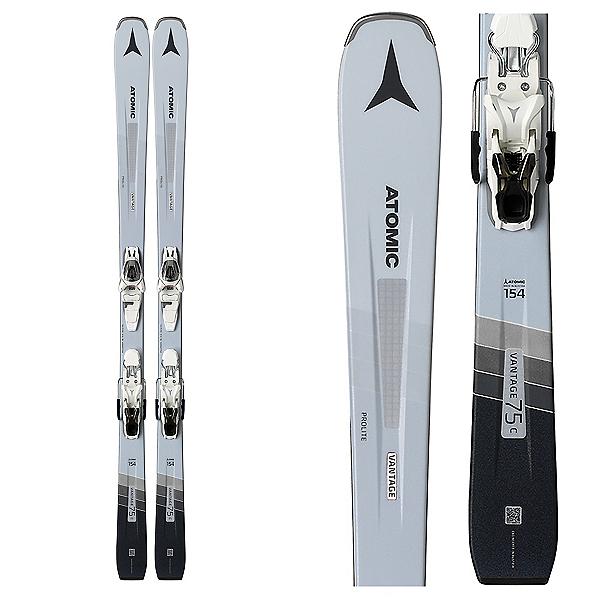 Atomic Vantage 75 C W Womens Skis with Bindings, , 600