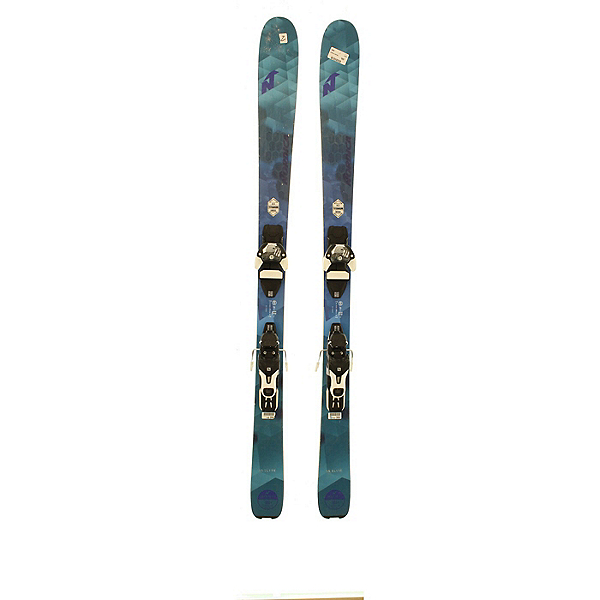Used 2017 Nordica Astral 84 Skis with Warden 11 bindings (C Condition), , 600